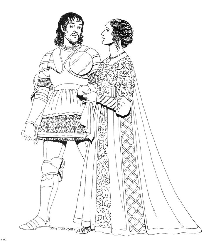 105 Best Images About Renaissance Sewing Patterns On Pinterest: 106 Best Images About History Coloring Page On Pinterest