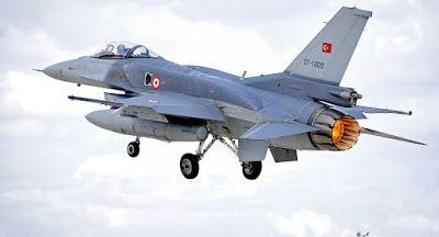 PKK - Partido dos Trabalhadores do Curdistão derruba caça F-16 da Turquia