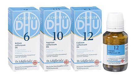Detox-Kur :: DHU Schüßler-Salze - das Original