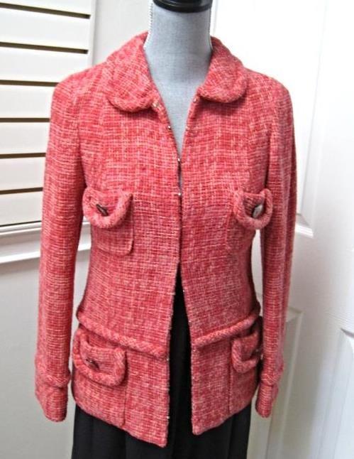 Item Title | Marc Jacobs tweed jacketsize small | Trudie's+Treasures - Ho+Ho+Kus, NJ
