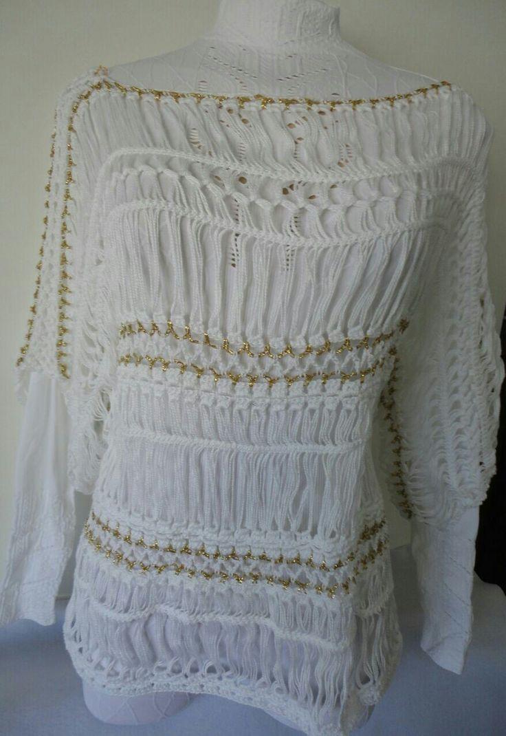 Blusa branca especial