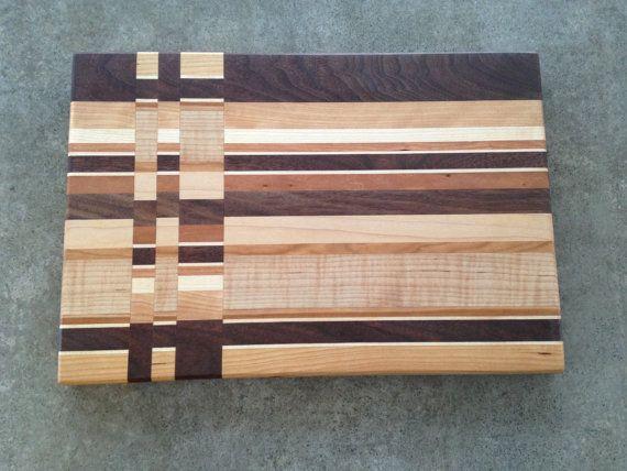 Wooden Cutting board Solid wood cutting board by FlipDogDesigns