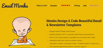 PSD to Responsive Email Template Services from India