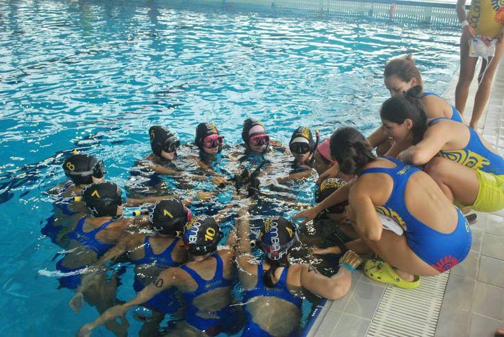 Selección Colombia Femenina Sub-23, campeona del Campeonato Mundial de Hockey Subacuático 2015.