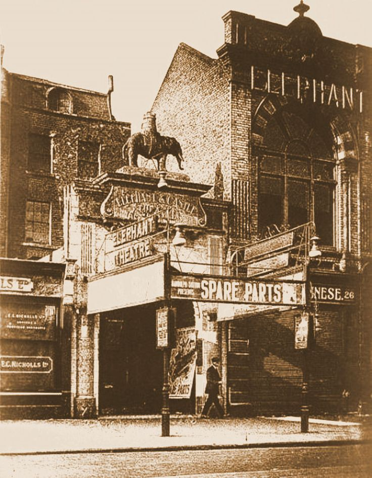 Elephant & Castle Theatre, New Kent Road, c1879.