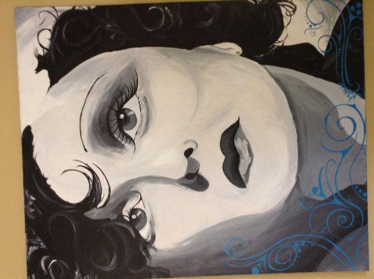 Edith Piaf portrait I did in 2008