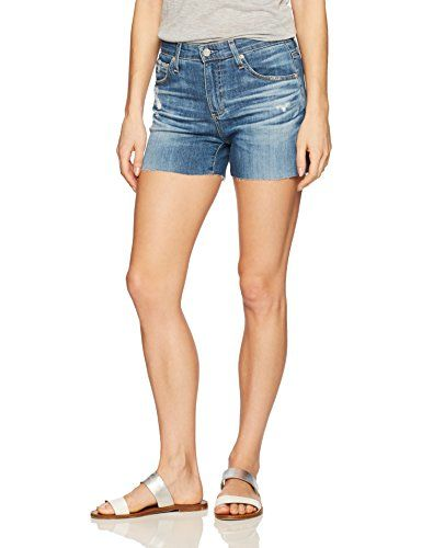 AG Adriano Goldschmied Women's the Hailey Cut Off Jean Sh... http://amzn.to/2gMdTUn