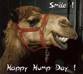 Smile!  Happy Hump Day!