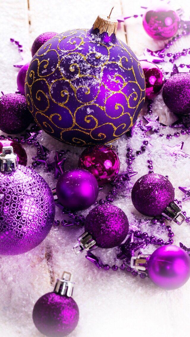 Christmas in Purple