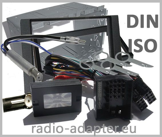 Ford Focus II Lenkradfernbedienung + Doppel DIN Radioblende Antennenadapter - http://www.radio-adapter.eu/home/lenkradadapter/ford/ford-focus-ii-lenkradfernbedienung-_-doppel-din-ra.html Radio Adapter.eu