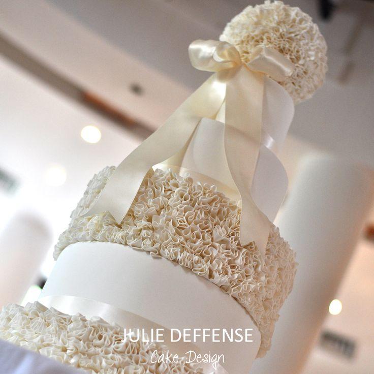 Luxury wedding cake by Julie Deffense of Julie Deffense Artistry. Sarasota, FL, Cascais, Portugal, Worldwide. Cake: Julie Deffense Location: Vila Vita Parc, Algarve, Portugal