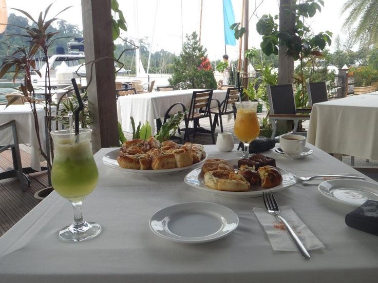 One of the best breakfasts I've ever had @ The Loaf in Langkawi