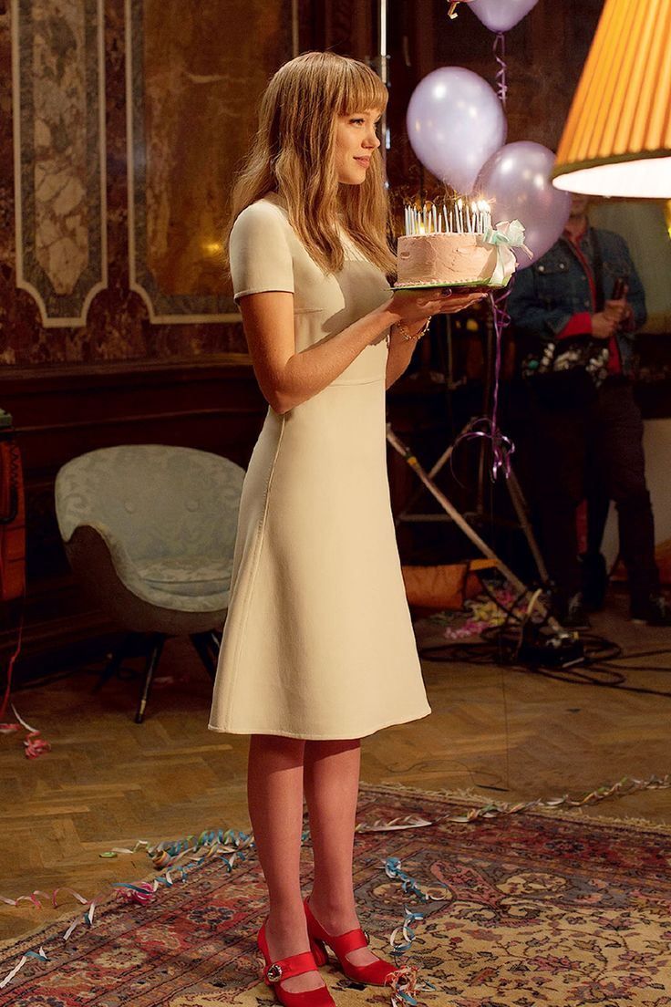 Lea Seydoux in the Prada Candy commercial. By Wes Anderson  Roman Coppola...