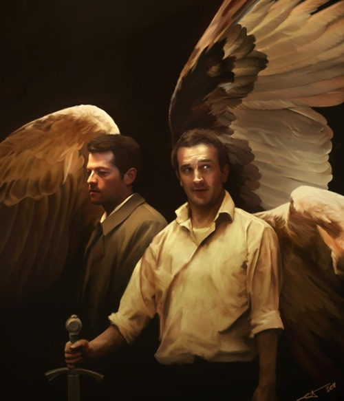 supernatural gabriel and art - photo #7