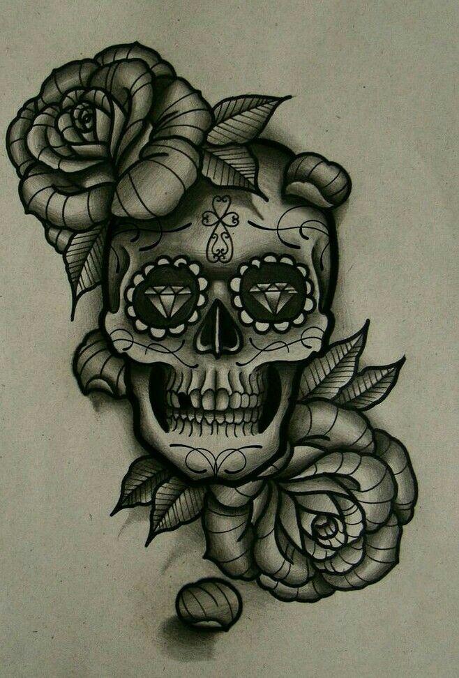 #tatto #calavera mexicana