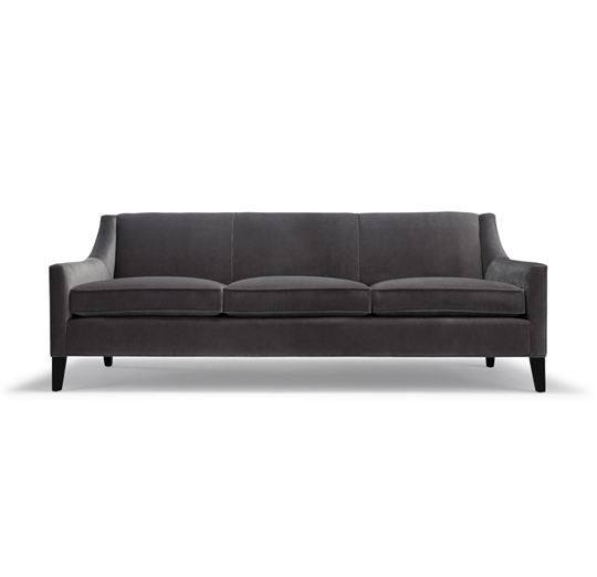Cara features clean modern lines with a comfy loose seat with a slim tight back. Her sculptural profile is defined by her curved back and sl...