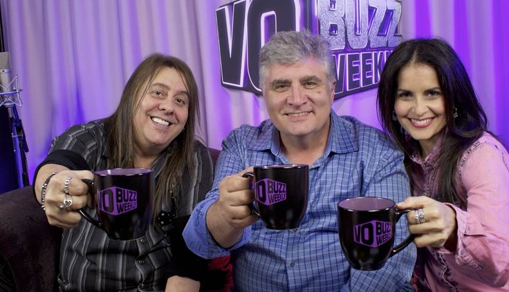 Futurama, Inspector Gadget, Pinky and the Brain and more ...   Chuck and Stacey raise their mugs to VO superstar Maurice LaMarche.