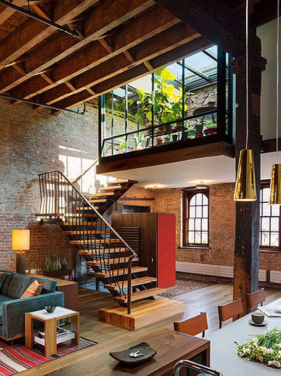 A loft in a 19th century converted warehouse - desire to inspire - desiretoinspire.net