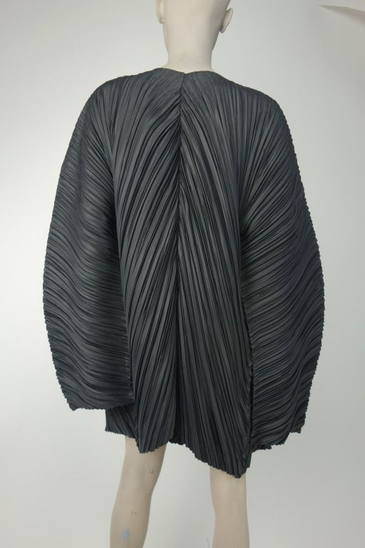 Issey Miyake | From a collection of rare vintage jackets at http://www.1stdibs.com/fashion/clothing/jackets/