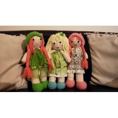 Hermosas Muñecas A Crochet