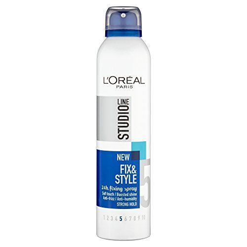 L'Oreal fix et le style 24hr mousse fixation la lutte contre les frisottis 250ml | Your #1 Source for Beauty Products