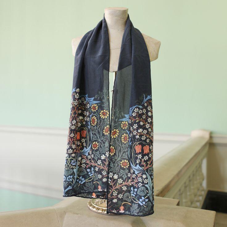 V&A Blackthorn crepe scarf | £60 | V&A Shop #vamSHOP