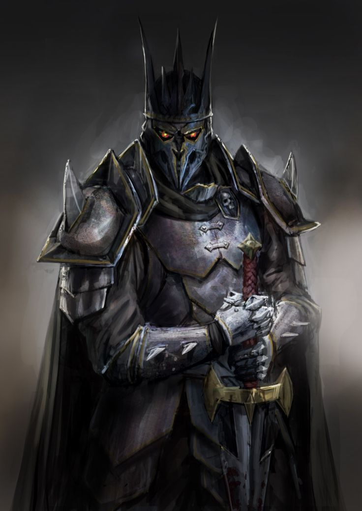 Image result for nightmare paladin dnd (With images) | Dark warrior, Fantasy armor