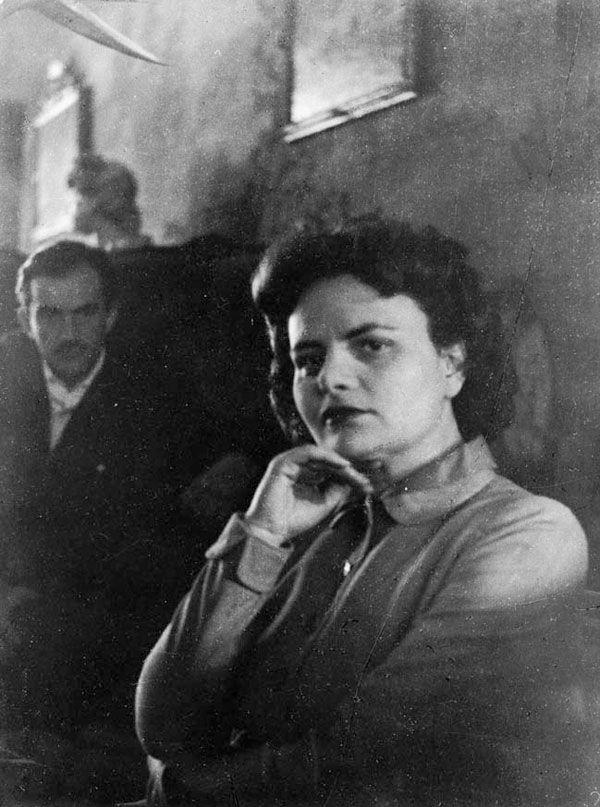 Elsa Morante and Luchino Visconti.