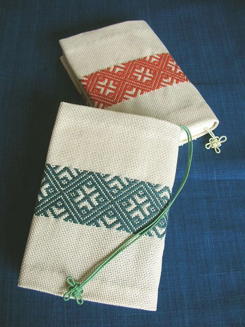 Kogin is a Sashiko style in the northeast of Japan.