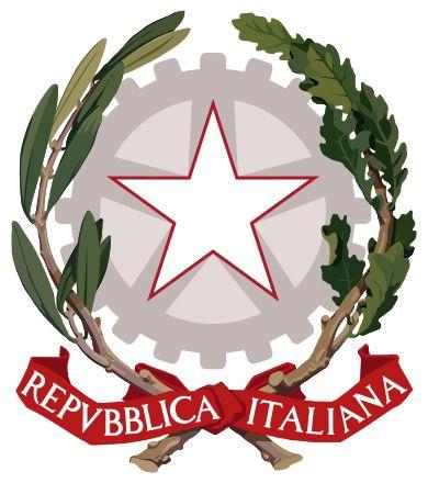 Logo de armas da Republica Italiana!