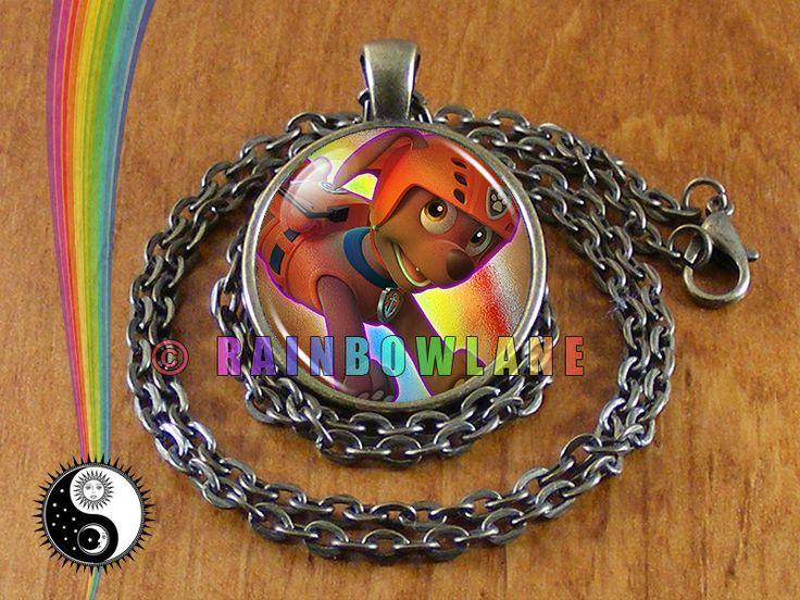Handmade Paw Patrol Zuma Necklace Pendant Jewelry Charm Gift Toy Toys #Handmade