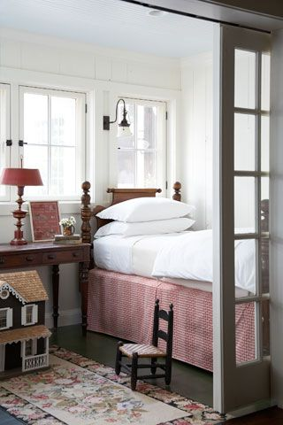 cosy vintage cottage feel