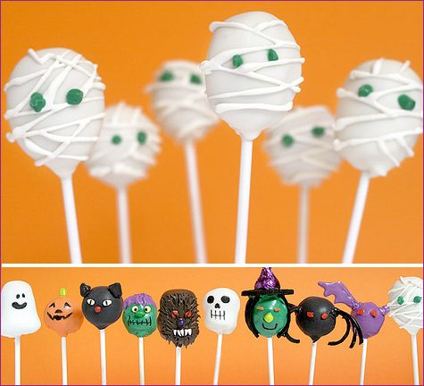 Halloween Cake Pops by Bakerella By Hostess With the Mostess -- see more at LuxeFinds.comHalloween Desserts, Halloween Parties, Halloween Fun, Parties Cake, Bakerella Halloween Cake Pop, Halloweentreats, Halloween Treats, Halloween Cakes, Halloween Cake Pops