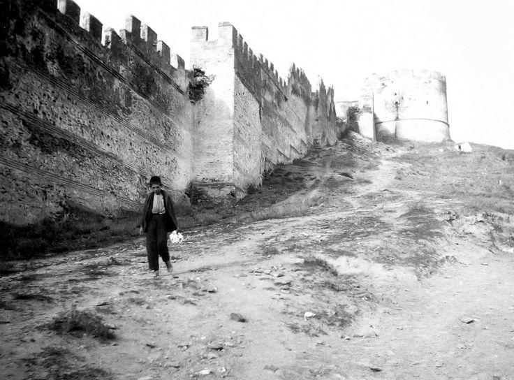 Thessaloniki, outside of the Northeastern part of the city's wall, circa 1890
