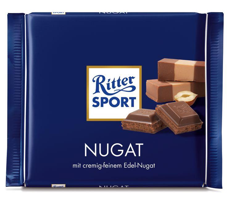 RITTER SPORT #Nugat #Schokolade