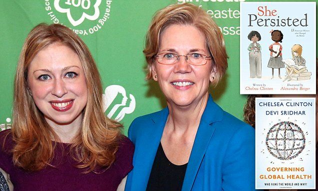 #After Massive Flop, #Chelsea #Clinton To Release New Book...Cashing in on Elizabeth Warren rally cry...