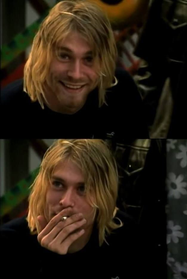 I have chosen to pin this image because Kurt Cobain is one of my role models.