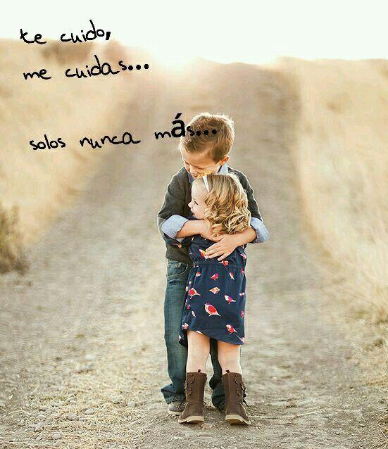Te cuido, me cuidas, solos nunca más... (Nestor Reyes)