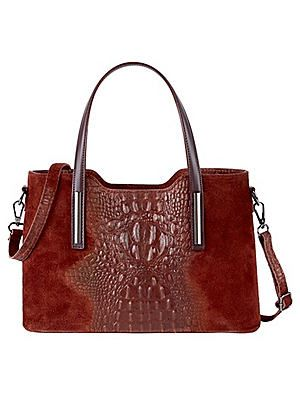 Croc Effect Embossed Handbag #Kaleidoscope #Workwear