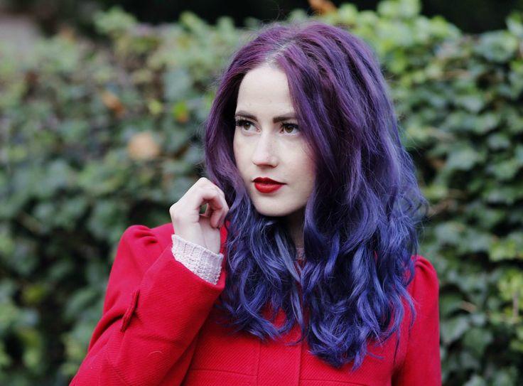 Purple Hair, Directions Plum, Colorful Hair, Violet Hair, Crazy Hair Colors, Directions Violet