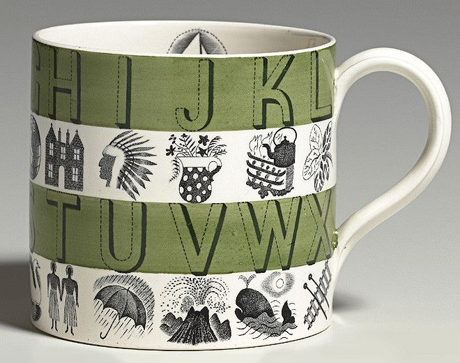 mug with eric ravilious (for wedgwood ceramics)