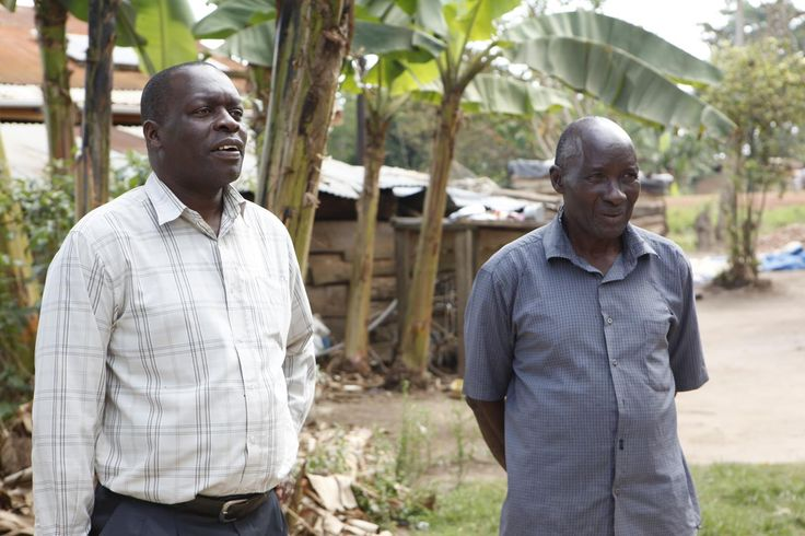 Nelson Basaalidde and Martin Lugambwa