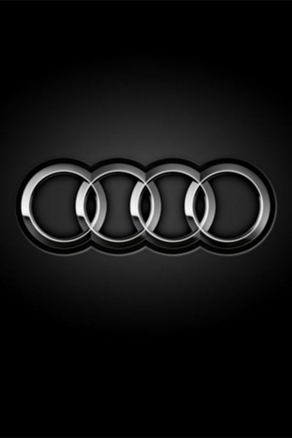 Audi Logo - iPhone 5S, 5C, 5, 4s, 4, 3Gs, 3G, 640x960, 640x1136 Free HD Wallpapers