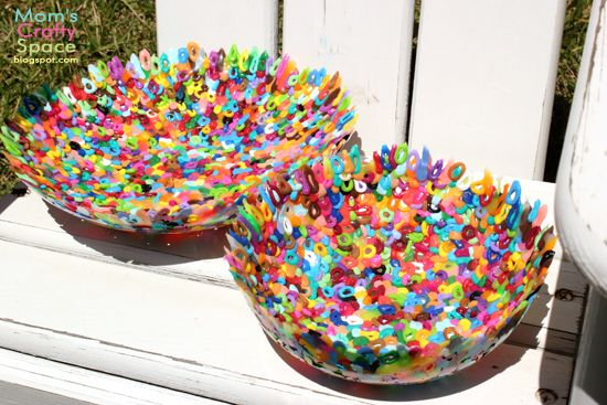 Design Dazzle Summer Camp: Perler Bead Bowls - Happiness is Homemade