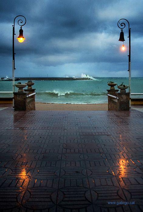 Port of Sant Feliu, Catalonia, Spain