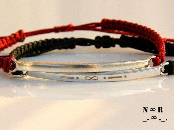 Morse Code Bracelet-Couples Morse code Bracelet-Couples