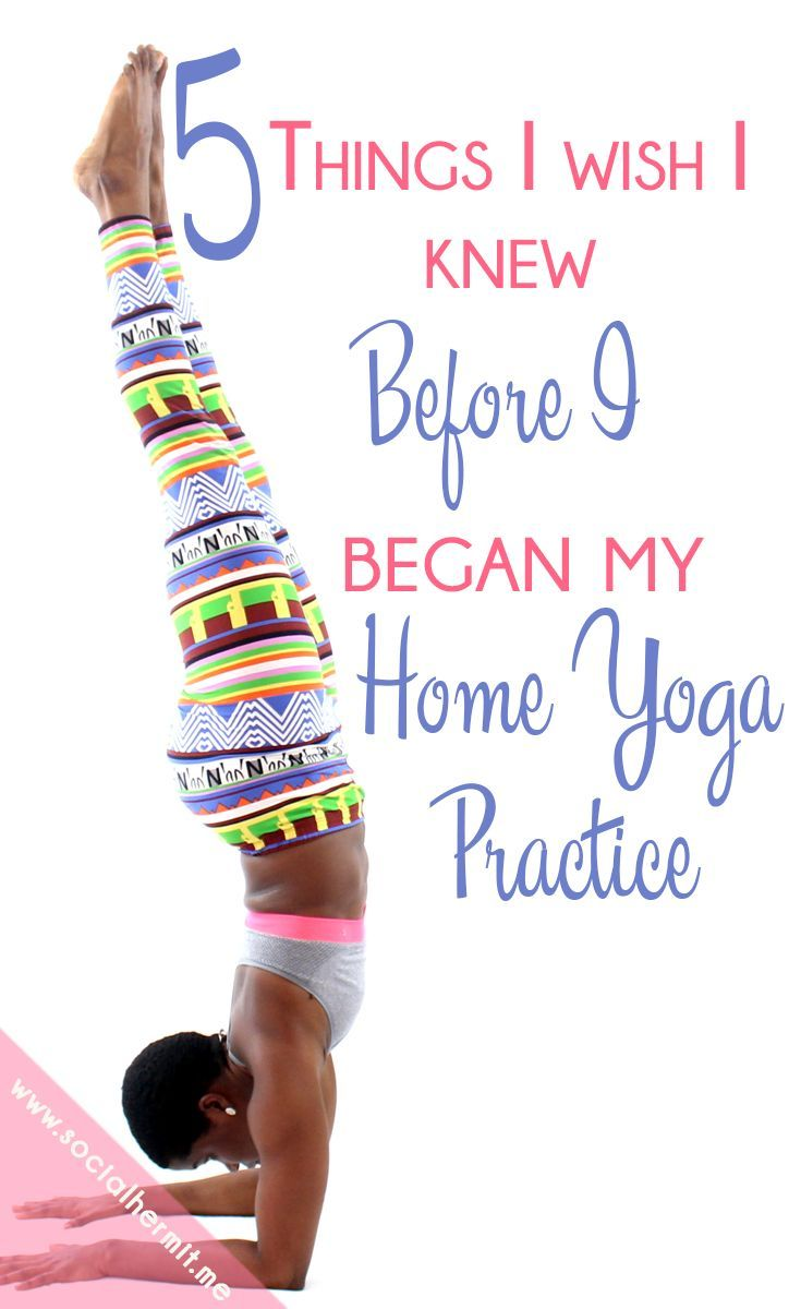 Yoga is a fun and versatile way to stay fit. I didn't always think so, I'm sharing 5 things I wish I knew before I began my home Yoga Practice with you in the hopes that you are saved from frustrations as you set up your home yoga practice.