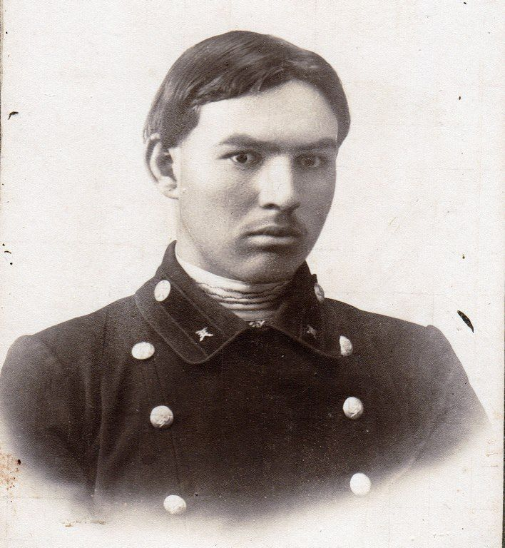 Tatars. Tелеграфист Татарин Борисоглебск 1893 Россия