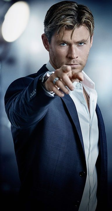 "Chris Hemsworth for ""TAG Heuer"" 2015"