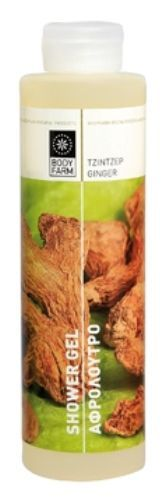 BODY-FARM-SHOWER-GEL-with-Ginger-250ml-Natural-Content